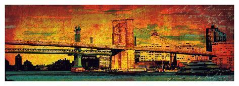 New York Memories Giclee Print