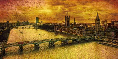Remembering London Art Print