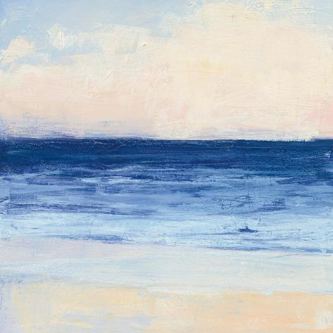 True Blue Ocean I Art Print