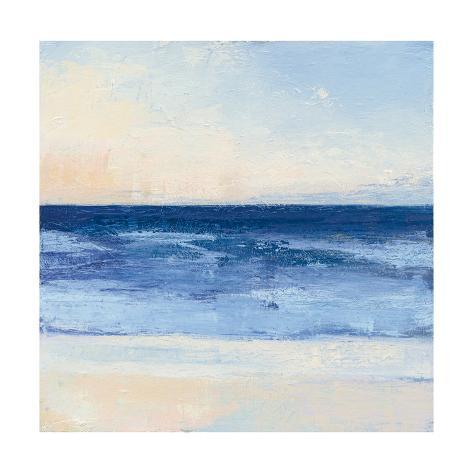 True Blue Ocean II Art Print