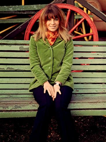 Julie Christie on the Set of Far from the Madding Crowd, 1967 Photo