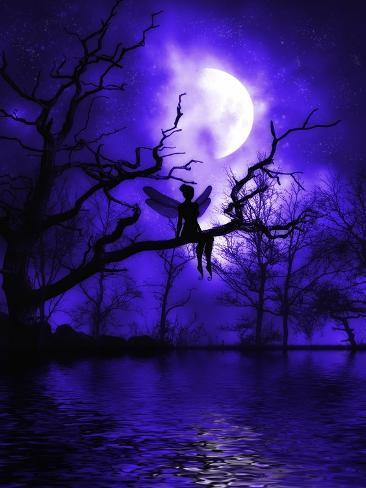 Celestial Night Art Print