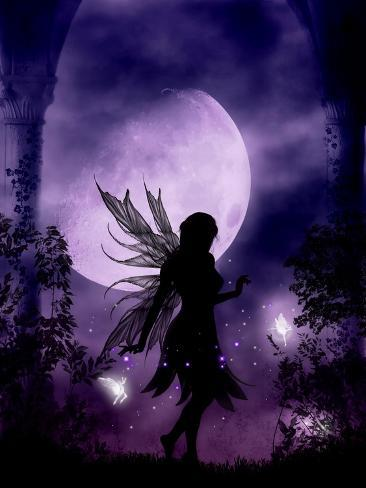 Dancing in the Moonlight Art Print