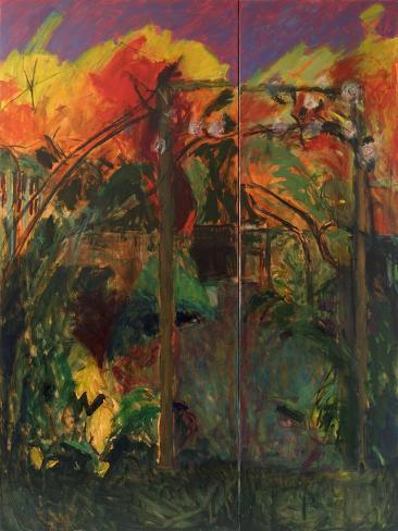 Autumn Garden, 2012-14 Giclee Print