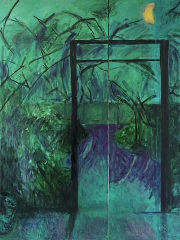 Moonlit Garden, 2014 Giclee Print