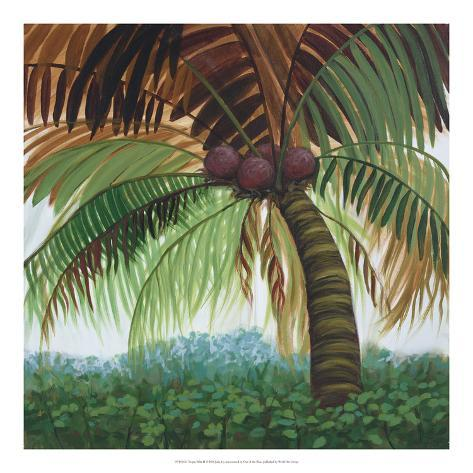 Tropic Palm II Art Print