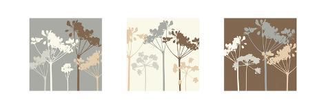Meadow Triptych I Art Print
