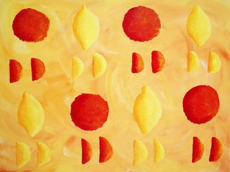 Oranges and Lemons, 2003 Giclée-vedos