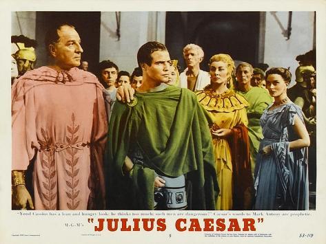 Julius Caesar, 1953 Art Print