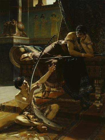 Julius Kronberg David and Saul