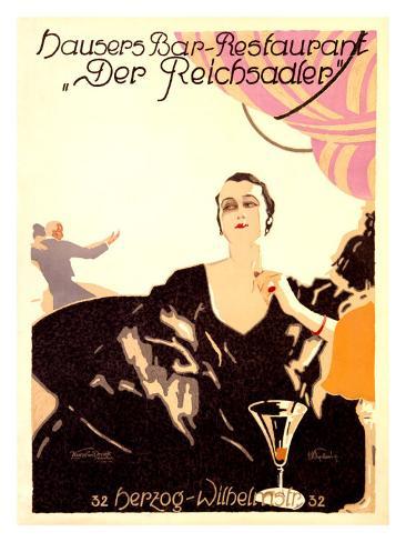 Der Reichsadler Giclee Print