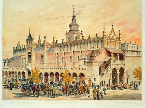 The Sukiennice, Krakow, from 'Klejnoty Miasta Krakowa', Published 1899 Giclee Print