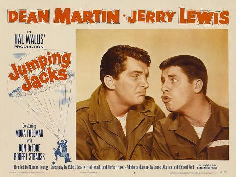 Jumping Jacks, 1952 Art Print
