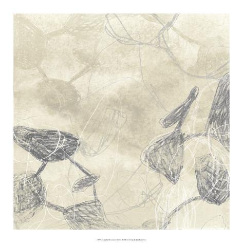Graphite Inversion I Giclee Print