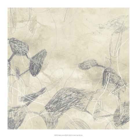 Graphite Inversion II Giclee Print