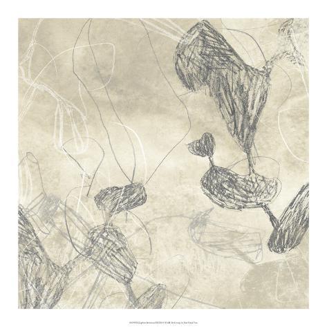 Graphite Inversion III Giclee Print