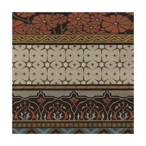 Heirloom Textile I Art Print