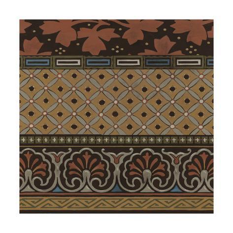 Heirloom Textile II Art Print