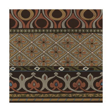 Heirloom Textile III Premium Giclee Print