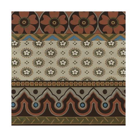 Heirloom Textile IV Art Print