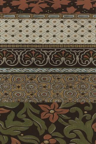 Heirloom Textile V Art Print
