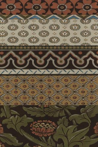 Heirloom Textile VI Art Print