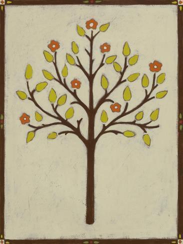 Orchard Vignette II Art Print
