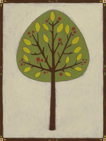 Orchard Vignette IV Art Print