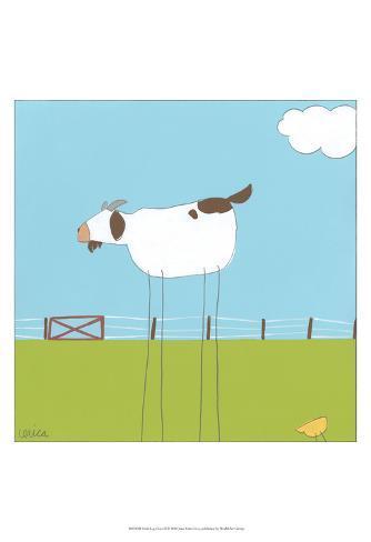 Stick-leg Goat II Art Print