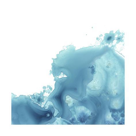 Splash Wave II Art Print