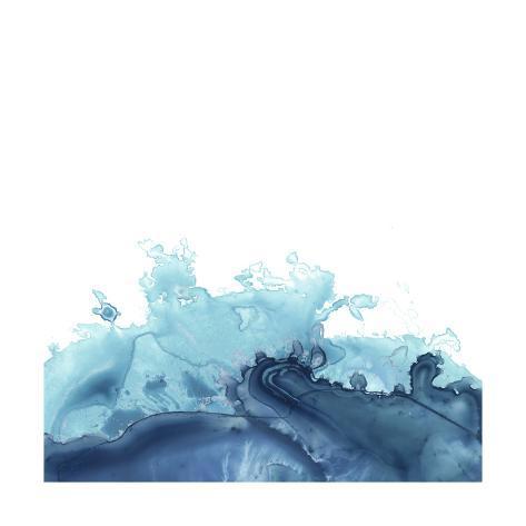 Splash Wave III Art Print