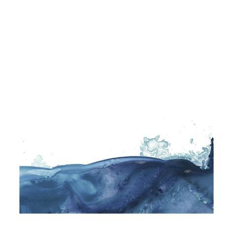 Splash Wave V Art Print