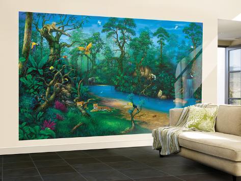 Jungle Dreams Wallpaper Mural