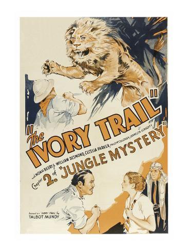 Jungle Mystery - the Ivory Trail Premium Giclee Print