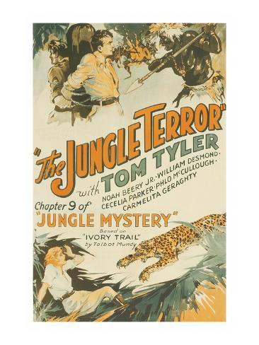 Jungle Mystery - the Jungle Terror Art Print