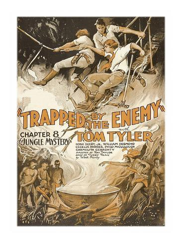 Jungle Mystery -Trapped by the Enemy Art Print