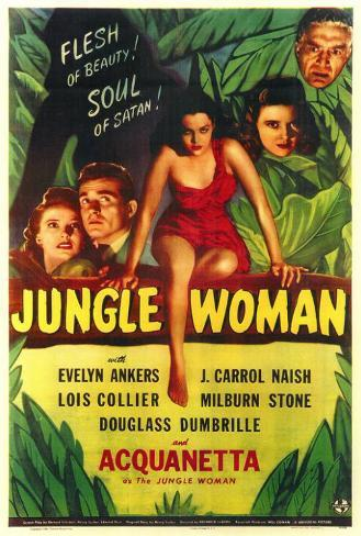 Jungle Woman Poster
