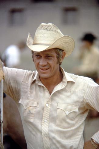 Junior Bonner, Steve Mcqueen, 1972 Photo