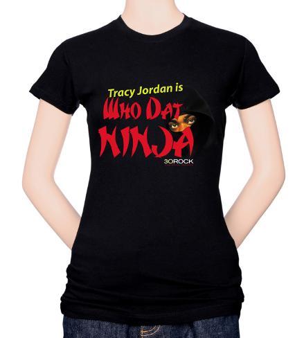 Juniors: 30 Rock-Who Dat Ninja T-Shirt