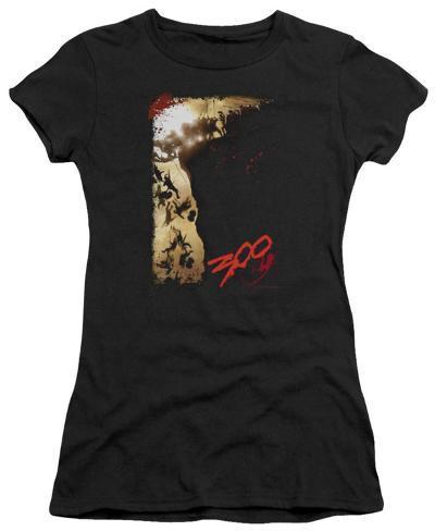 Juniors: 300 - The Cliff Juniors (Slim) T-Shirt