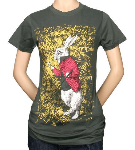 Juniors: Alice in Wonderland - Late T-Shirt