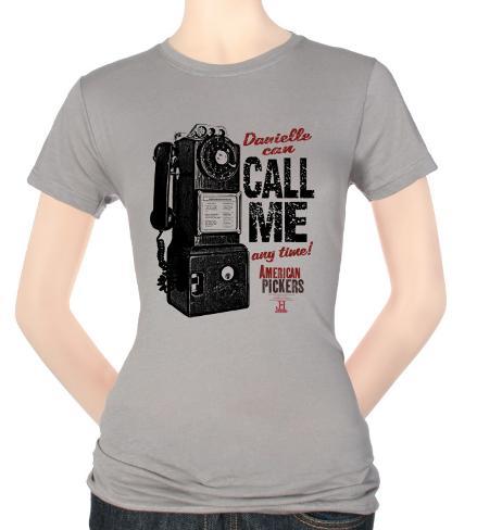 Juniors: American Pickers-Call Me T-Shirt