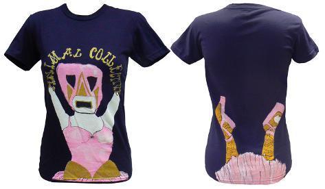 Juniors: Animal Collective - Ballerina Womens T-Shirts