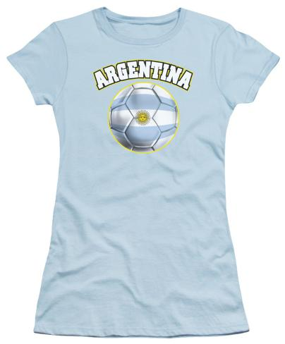 Juniors: Argentina Womens T-Shirts