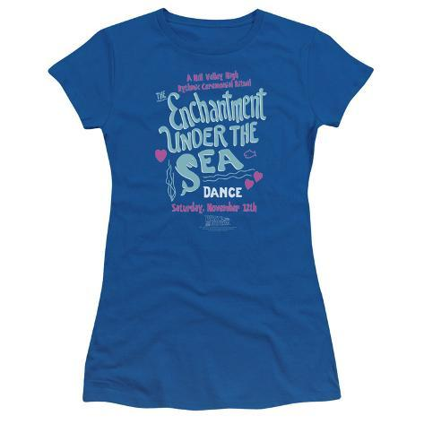 Juniors: Back to the Future - Under the Sea Womens T-Shirts