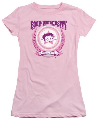 Juniors: Betty Boop - Boop University Womens T-Shirts