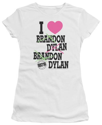 Juniors: Beverly Hills 90210 - I Heart 90210 Womens T-Shirts