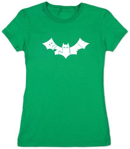Juniors: Bite Me Bat Womens T-Shirts