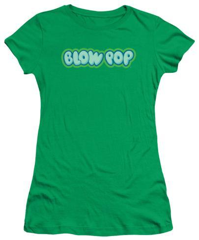 Juniors: Blow Pop - Logo Womens T-Shirts