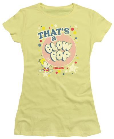 Juniors: Blow Pop - That's a Blow Pop Womens T-Shirts
